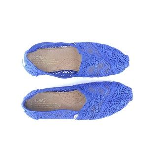Toms Moroccan Flats Crochet Espadrille 6.5 W Shoe2